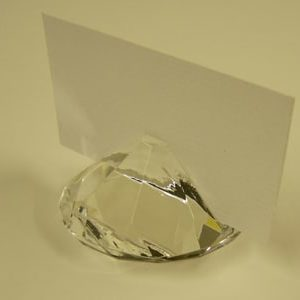 Crystal Place Card Holder - Quantites 1-9-0