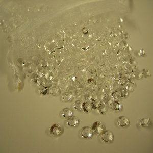 2000 Clear Table Crystals 4.5mm - 1/3 carat-0