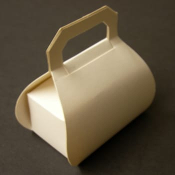 White Handbag Favour Box-0