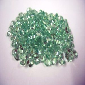5000 Apple Green Table Crystals 4.5mm - 1/3 carat -0