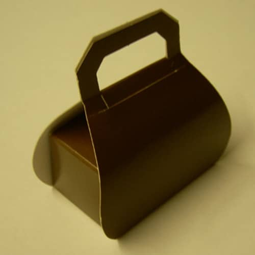 Brown Handbag Favour Box - Can be Personalised-0