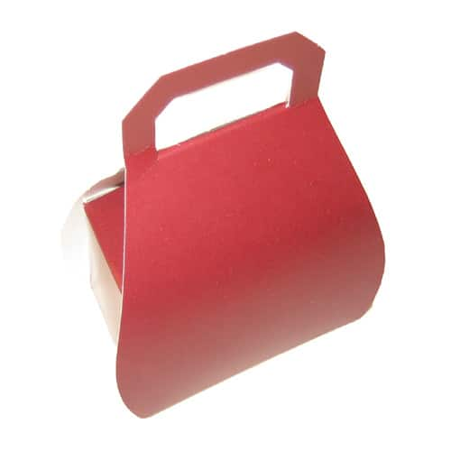 Burgundy Handbag Favour Box - Can also be Personalised-0
