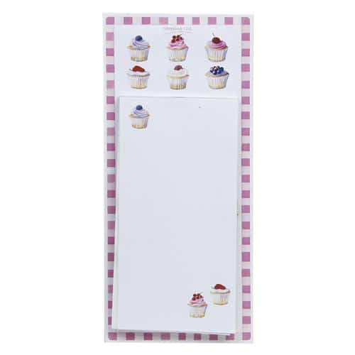 Cupcake Memo and Shopping List Pad-0