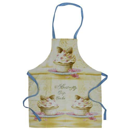 Butterfly Cupcake Design Apron-0