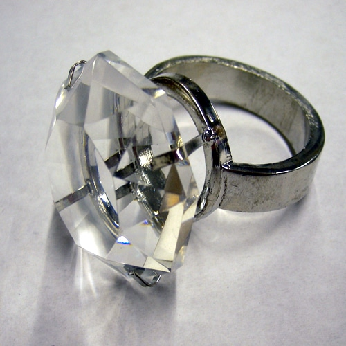 Crystal Napkin Ring - Individually Boxed-2511