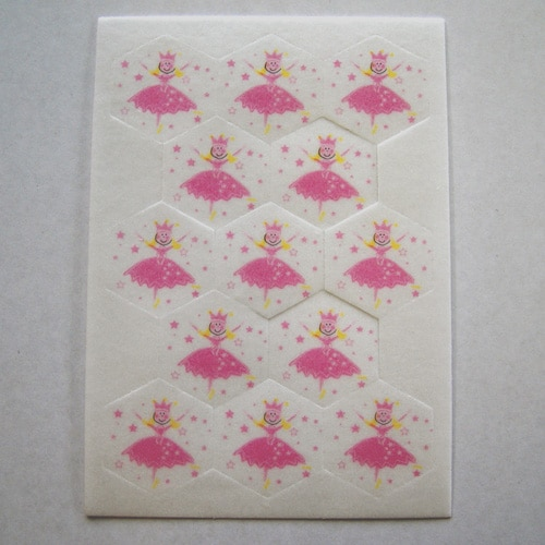 Princess Edible Wafer Cake Decorations - 13 per Sheet-0