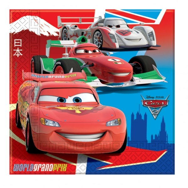 Disney Cars Luncheon Napkins - Pack of 20-0