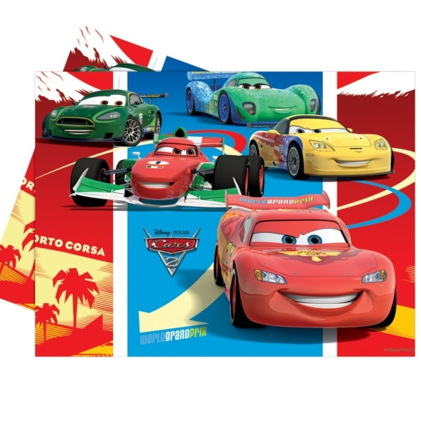 Disney Cars Plastic Tablecover-0