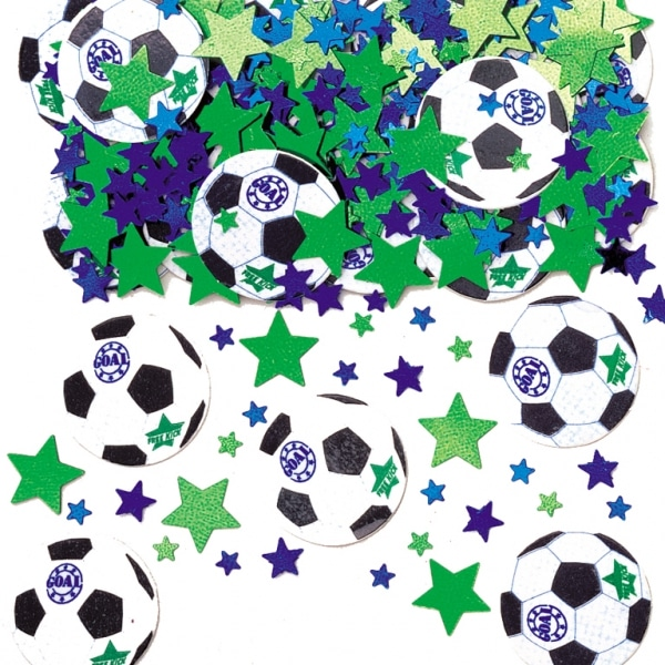 Goal Printed Mix Confetti - 14g-0