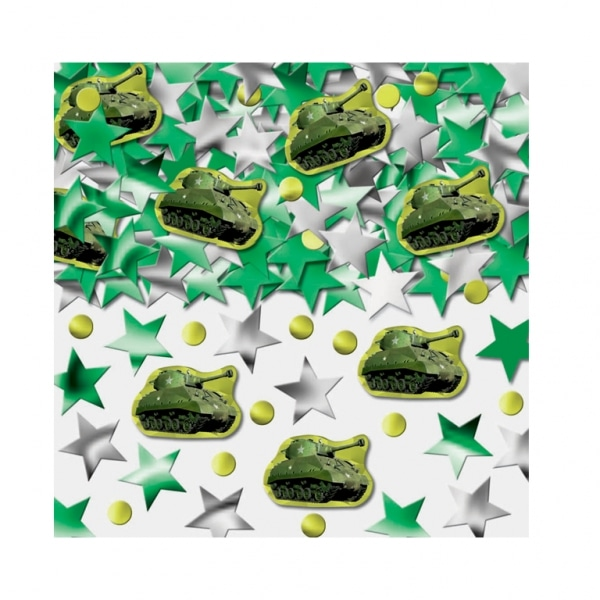 Camouflage Party Printed Confetti Mix-0