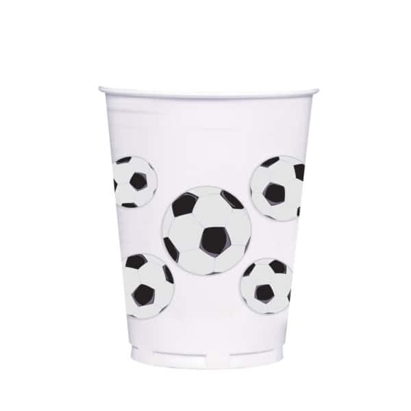 Football Party Plastic Cup 414ml-0