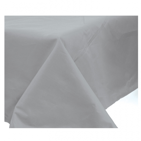 Silver Paper Tablecover - 1.4m x 2.8m-0
