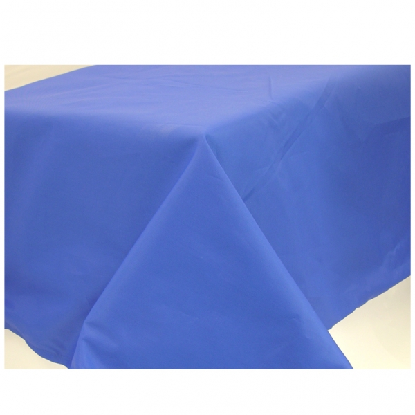 Marine Blue Paper Tablecover - 1.4m x 2.8m-0