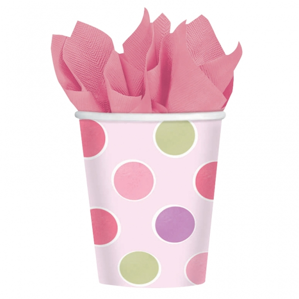 Little Princess Paper Cups 266ml - Pack of 8-0
