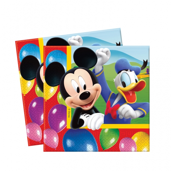 Mickey Mouse Luncheon Napkins - Pack of 20-0