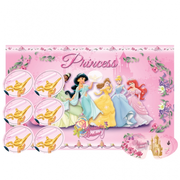 Disney Princess Journey Party Game-0