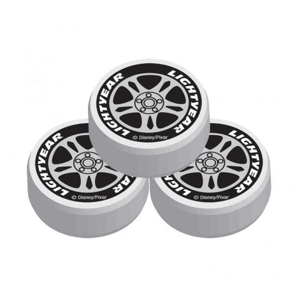Disney Cars Wheel Erasers - Pack of 8-0
