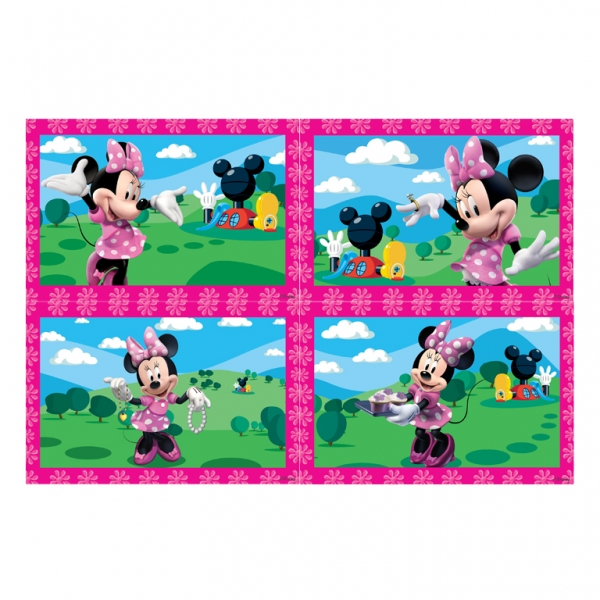 Minnie Mouse Jigsaws - Pack of 4-3110