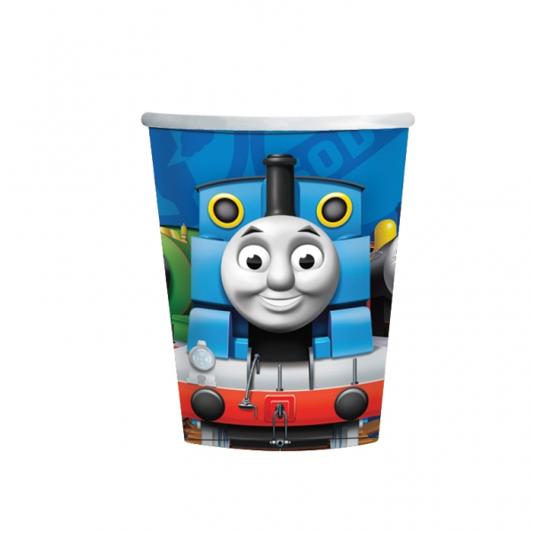 Thomas & Friends Paper Cups 266ml - Pack of 8-0
