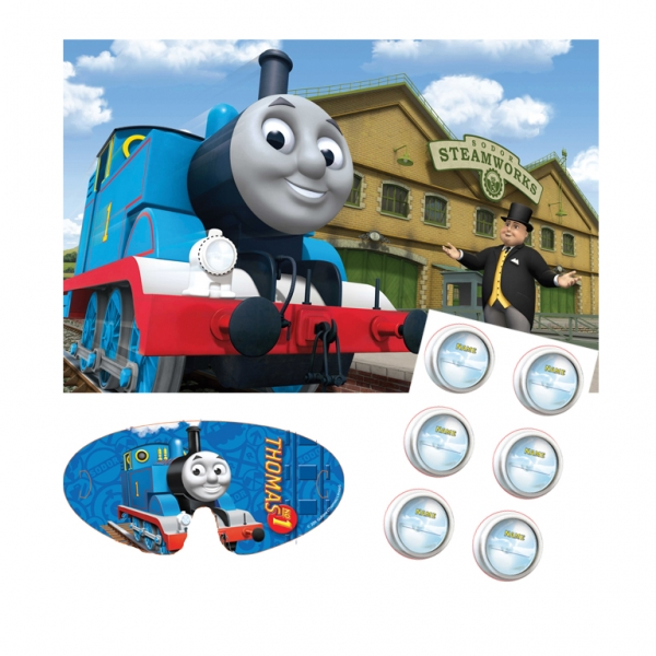 Thomas & Friends Party Game for up to 12 Children-0