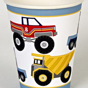 Big Rig Party Cups - Pack of 12-0
