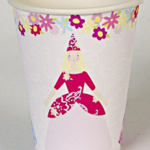 Fairytale Princess Party Cups - Pack of 12-0