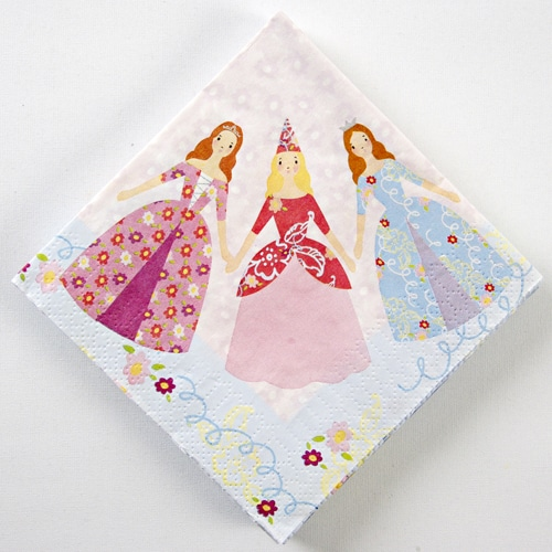 Fairytale Princess Party Napkins - Pack of 16-0