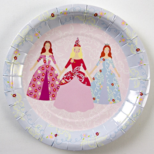 Fairytale Princess Party Plates - Pack of 12-0