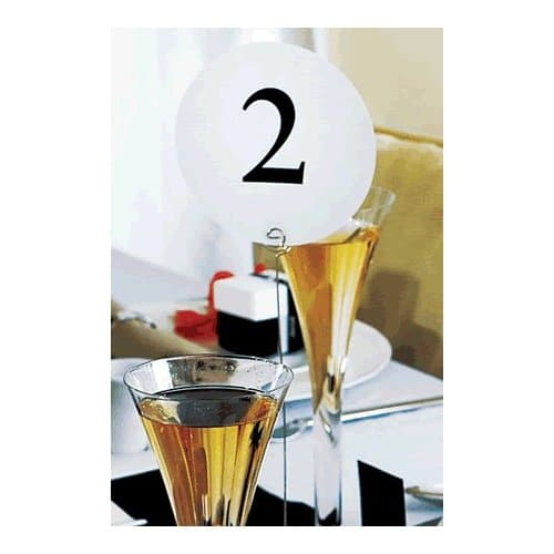 Round Table Numbers 1-12 -2716