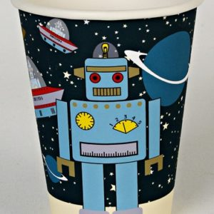 Space Cadets Party Cups - Pack of 12-0