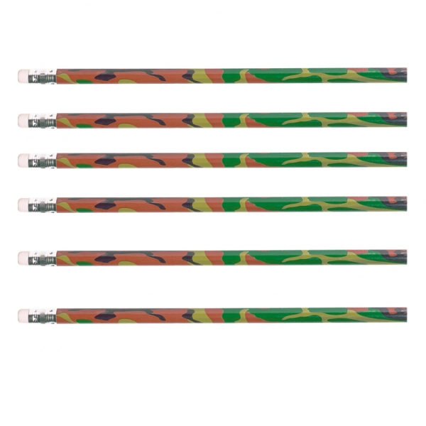 Camouflage Value Pack Pencils - Pack of 12-0