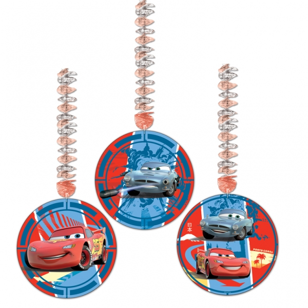 Disney Cars Dangling Cutouts 1.2m x 23cm - Pack of 3-0