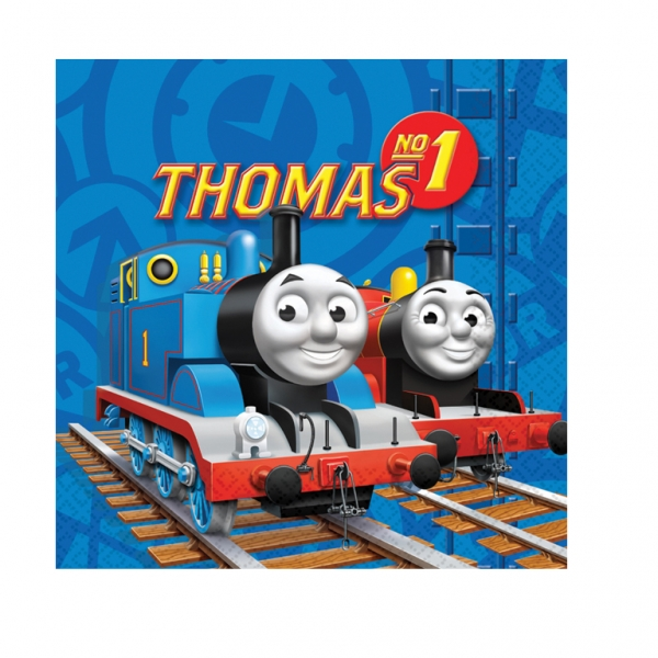 Thomas & Friends Engine Luncheon Napkins - Pack of 16-0