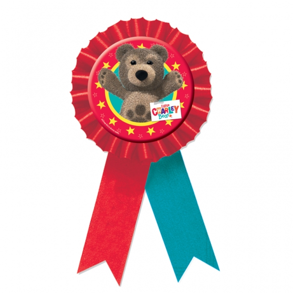 Little Charley Bear Confetti Award Ribbon -0