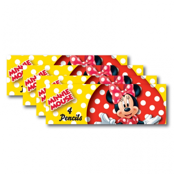 Minnie Mouse Pencil sets - Pack of 8-0