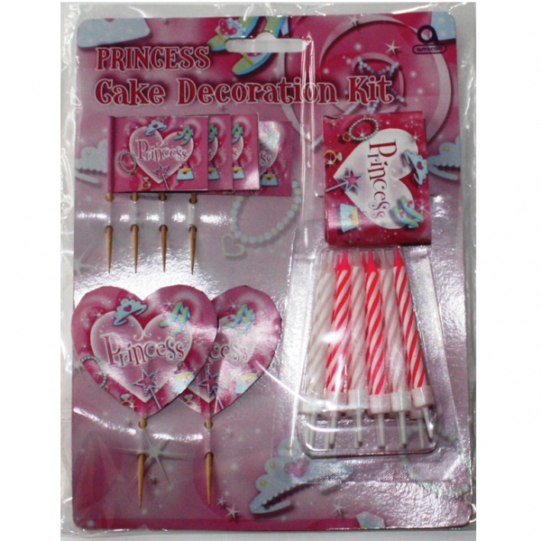 Princess Cake Decorate Kit - 19 Pieces-0