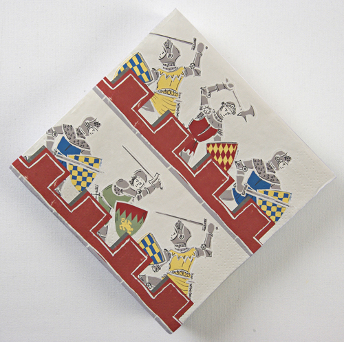 Brave Knights Party Napkins - Pack of 20-0