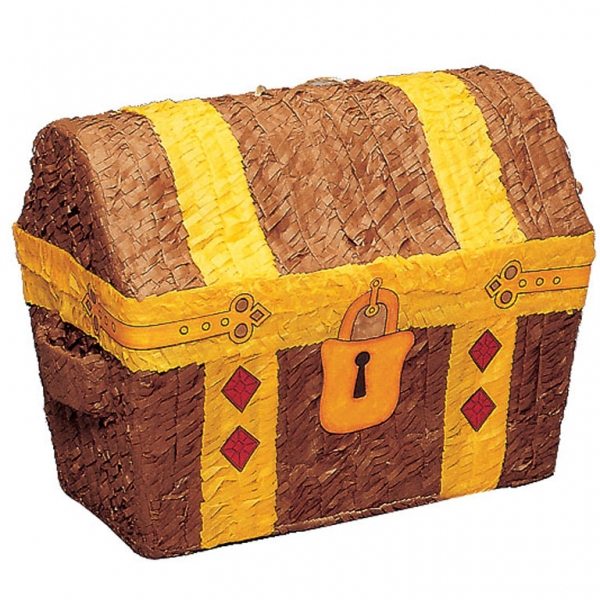 Treasure Chest Conventional Pinata-0