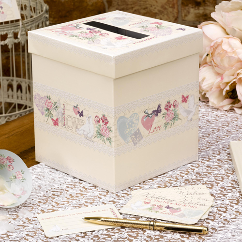 With Love Wedding Wishes Box-0