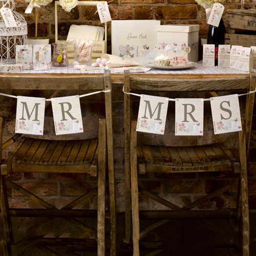 Mr & Mrs Chair or Wall Bunting-0
