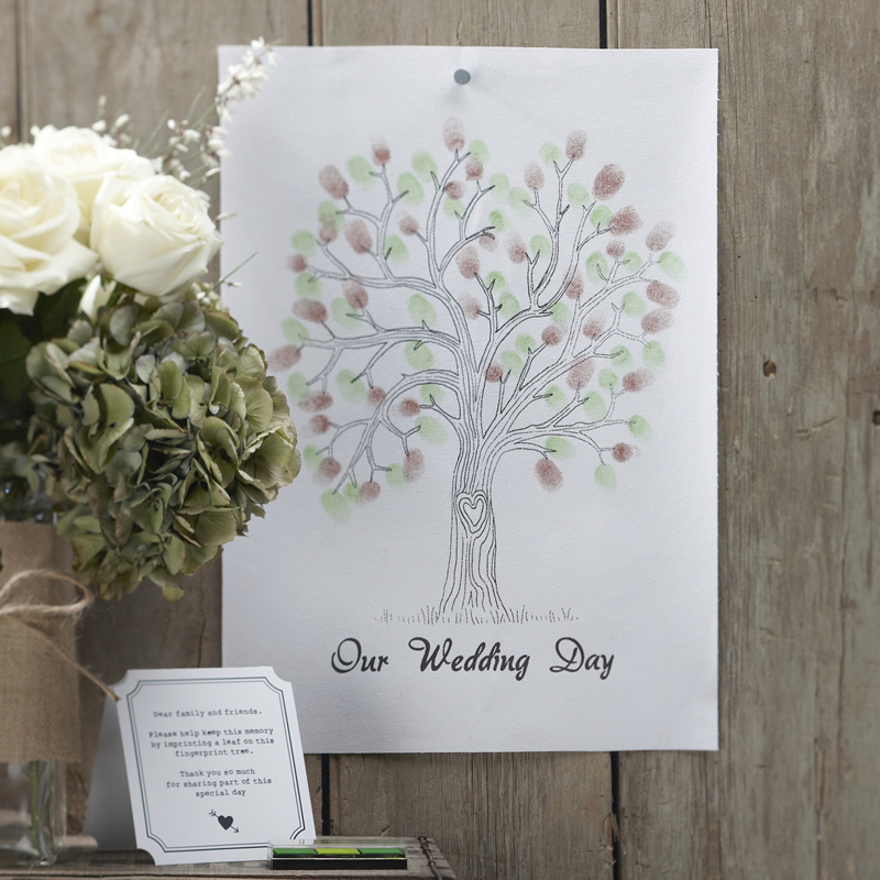 Green Finger Print Tree - Vintage Affair-0