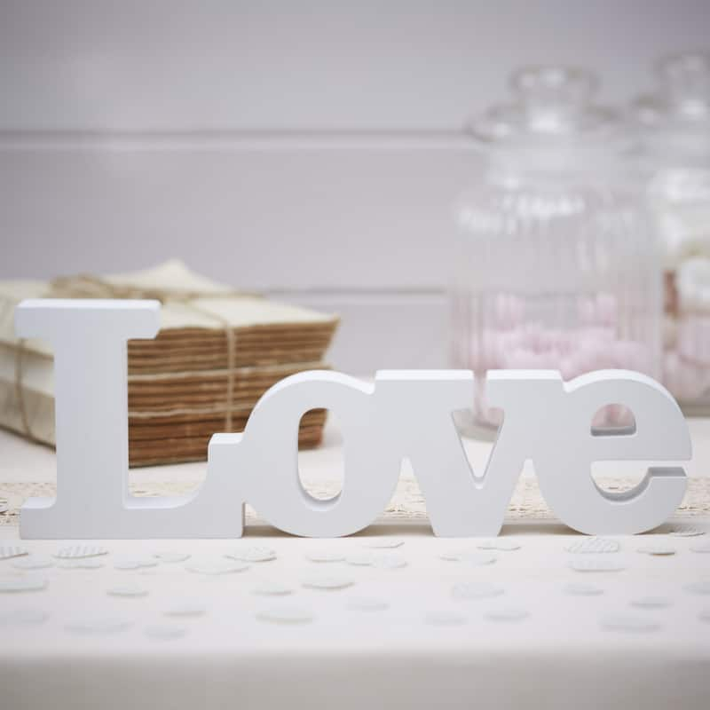 Wooden Love Sign - Vintage Affair-0
