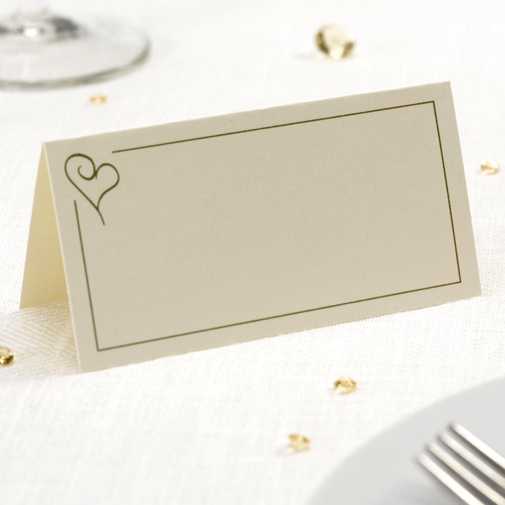 Free Standing Place Cards