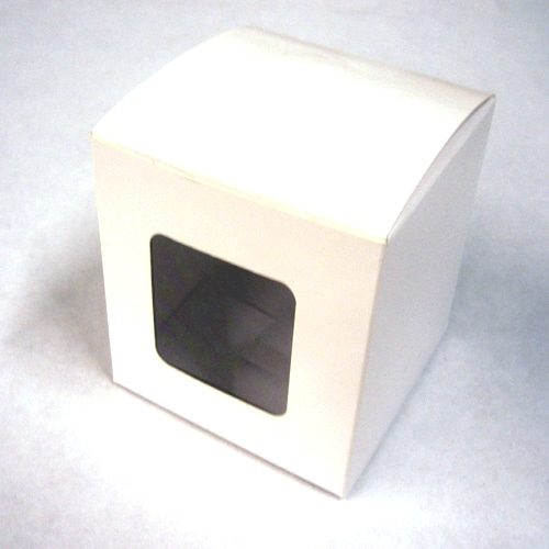 Single Cupcake Boxes with Square window