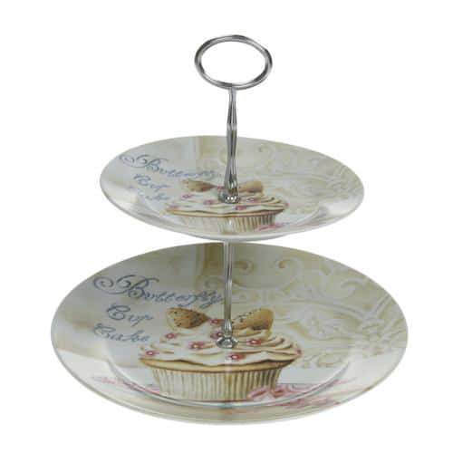 Glass and Ceramic Cake Stands