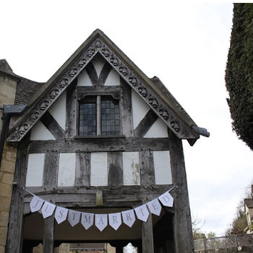 Wedding Bunting and Banners