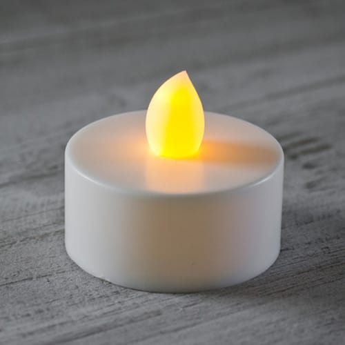 Battery Operated Flickering Tea Lights Wedding And Party