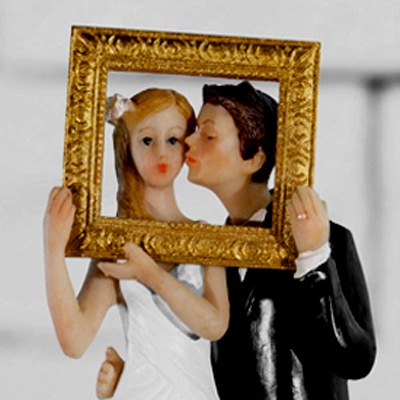 Wedding Cake Topper Figures