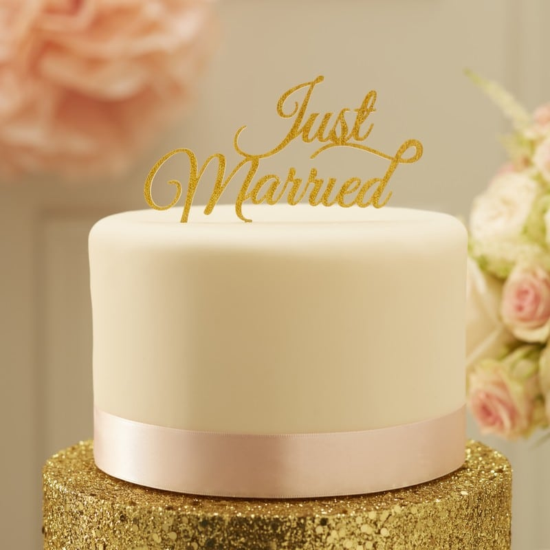 Wedding Cake Topper Signs - Wedding and Party Store