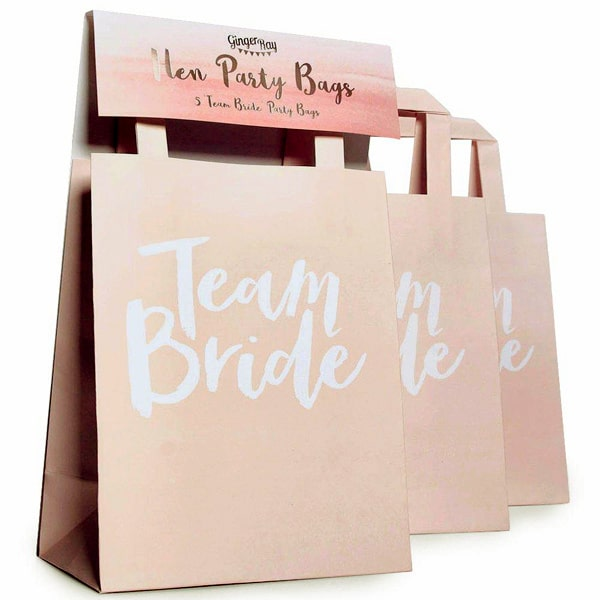 Team Bride by Ginger Ray